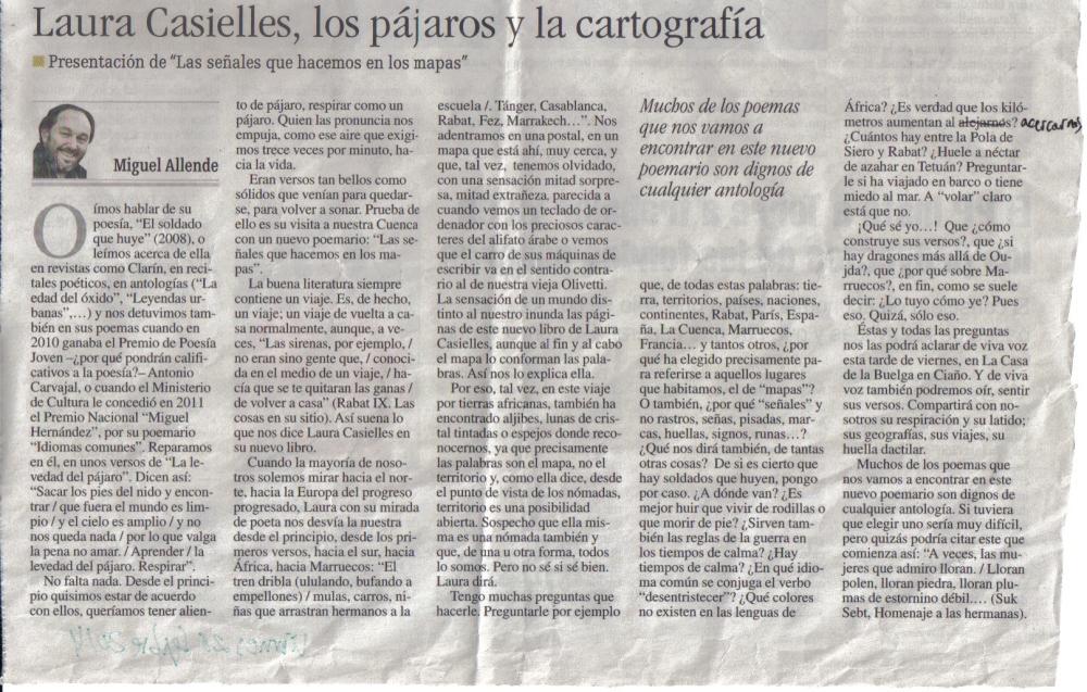 reseña Miguel Allende